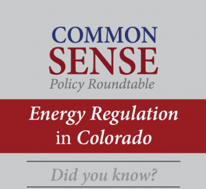 CSPR Did You Know Energy Regulation in Colorado