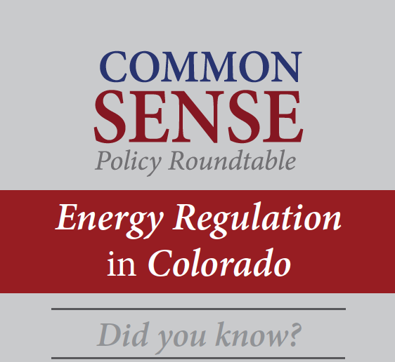 Energy Regulation in Colorado