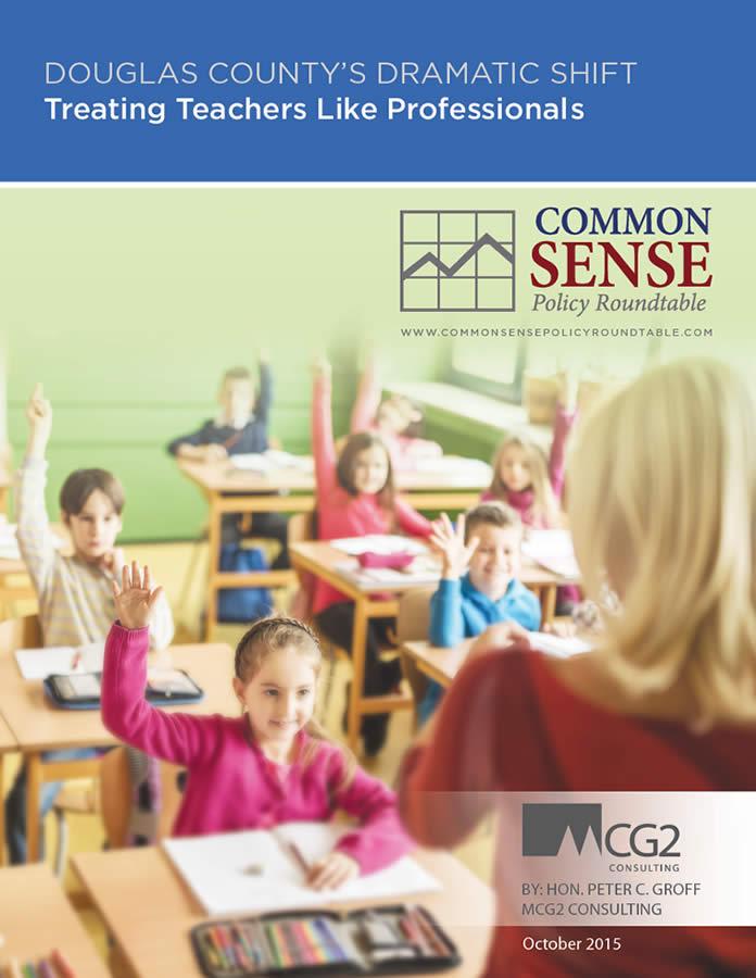 Douglas County's Dramatic Shift–Treating Teachers Like Professionals