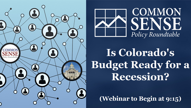 Webinar – Is Colorado's Budget Ready for a Recession?