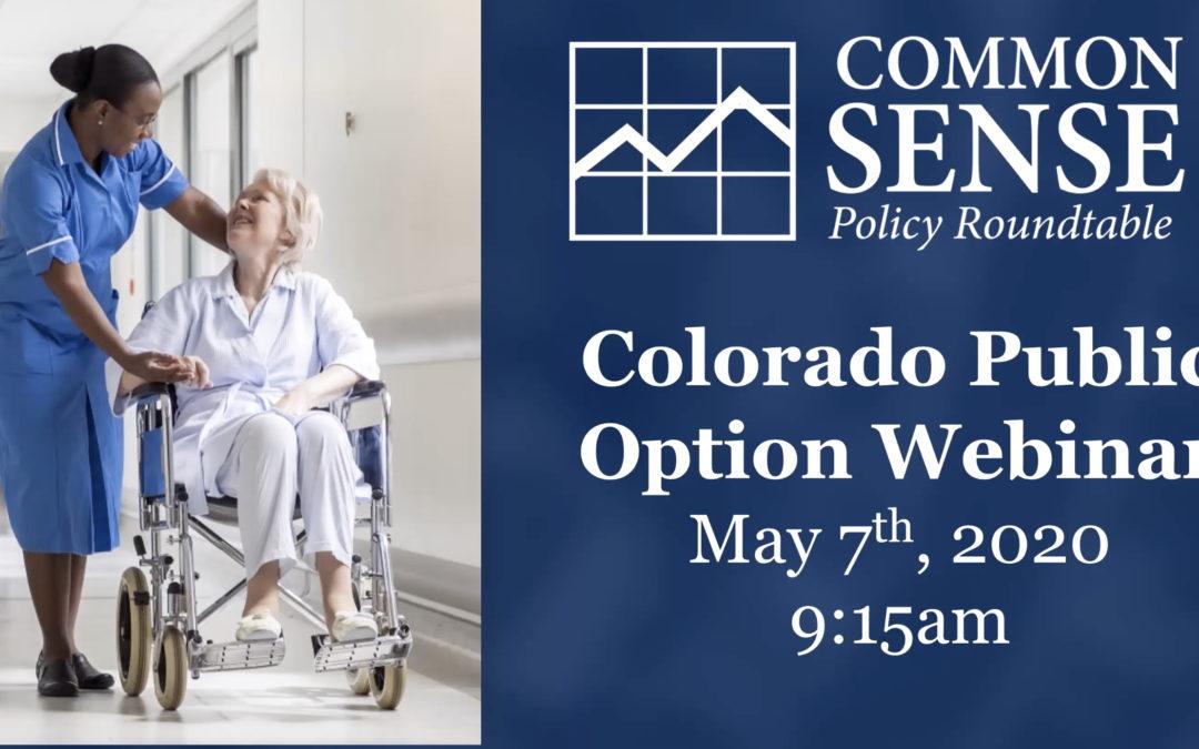 The Colorado Public Option Plan