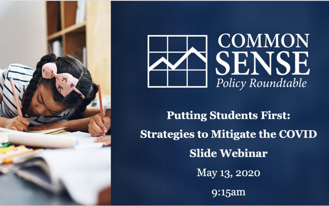 K-12 Education, the COVID Slide