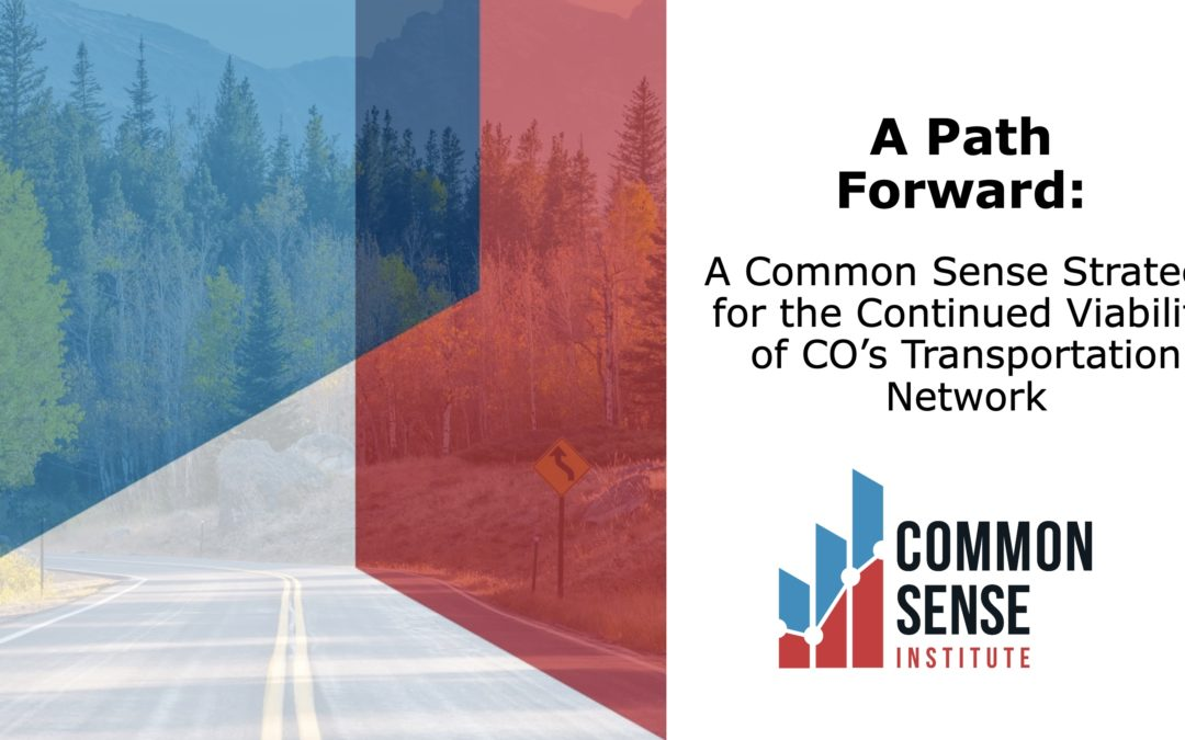 Strategies for Continued Viability of CO's Transportation Network