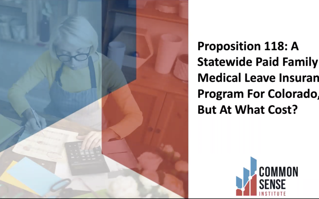 The Economic Impacts of a State-Operated Family Leave Program