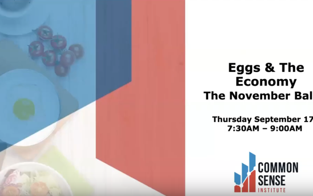 Eggs & the Economy – The November Ballot