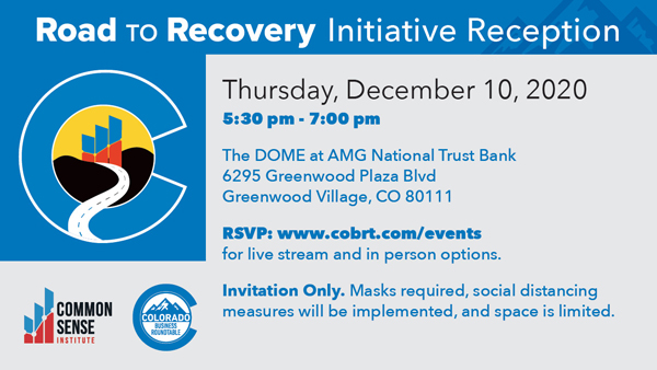 Road to Recovery Initiative Reception – Live stream