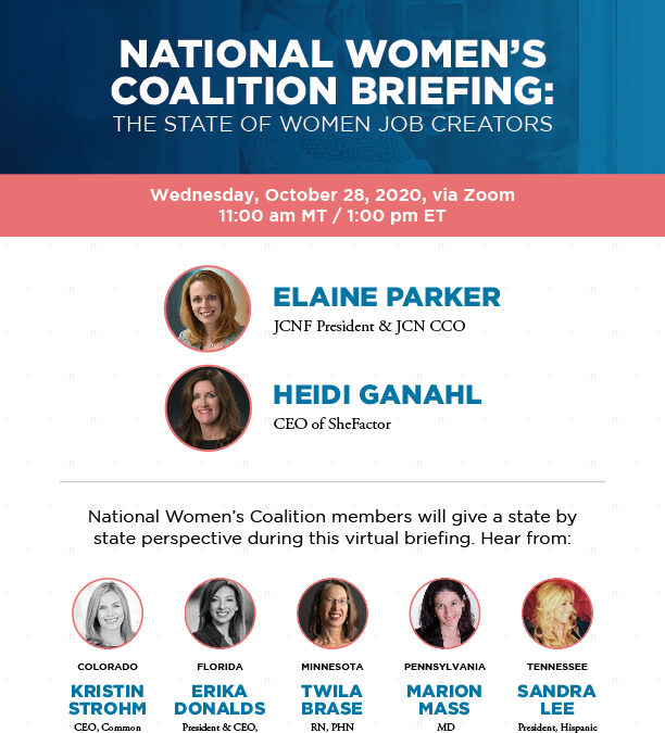 Job Creators Network National Women's Coalition Virtual Briefing — State-by-State Perspective